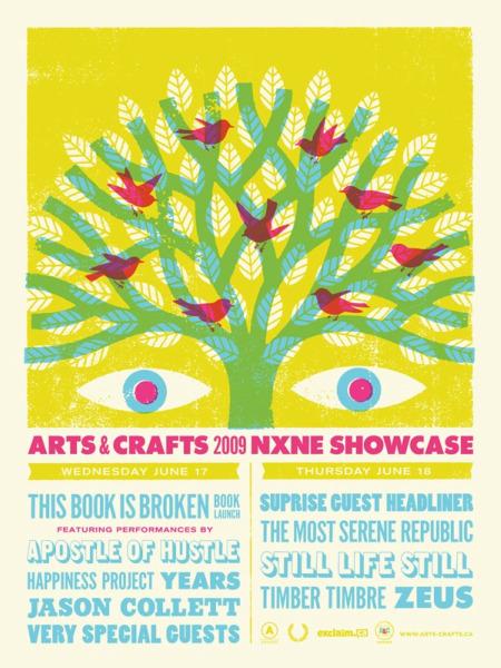 artscrafts poster online Timber Timbre