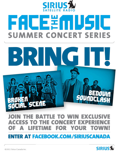 facethemusic2 SIRIUS: Face The Music [Contest]