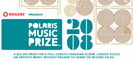 polaris 2008 Polaris Prize Awards are Tonight!