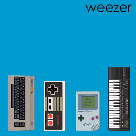weezer8bit1 Weezer classics in 8 bit form
