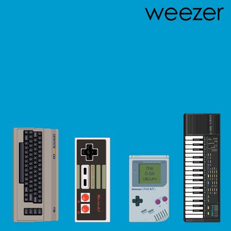 weezer8bit1 Weezer classics in 8 bit form