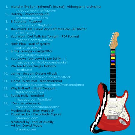 weezer8bit2 Weezer classics in 8 bit form
