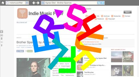imf shuffler Indie Music Filter Radio (via Shuffler.fm)