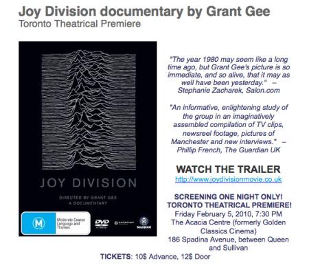 joy division – Indie Music Filter