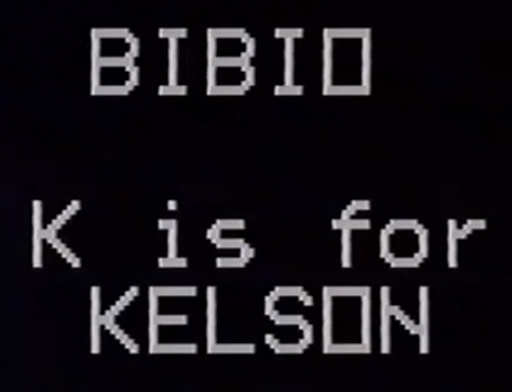 kelson bibio Video: K Is For Kelson by Bibio