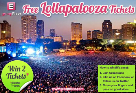 lollapalooza sweepstakes groopease