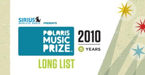 polaris long list 2010